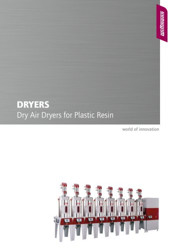 Dryers Dry Air Dryers for Plastic Resin