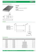 01140 Plates grey cast iron or aluminium - 1
