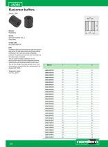 Rubber buffers - Shock absorbers - Gas springs - 12