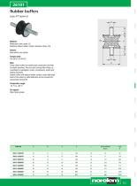 Rubber buffers - Shock absorbers - Gas springs - 17