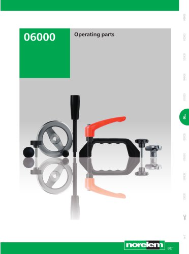 Standard component system - Operating parts