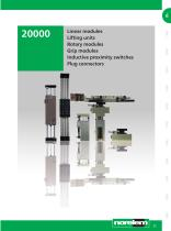 Systems and components for mechanical engineering and plant engineering