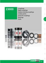 Systems and components for mechanical engineering and plant engineering - Couplings