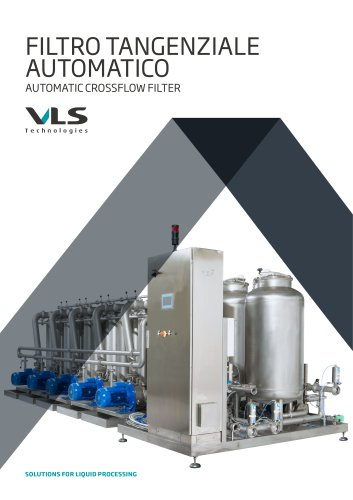 Automatic Crossflow Filter - TMF-I