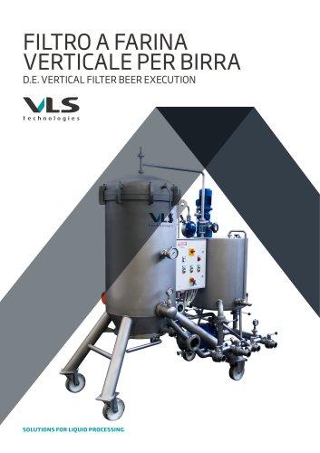D.E. Vertical Filter Beer Execution - FVV-BVA