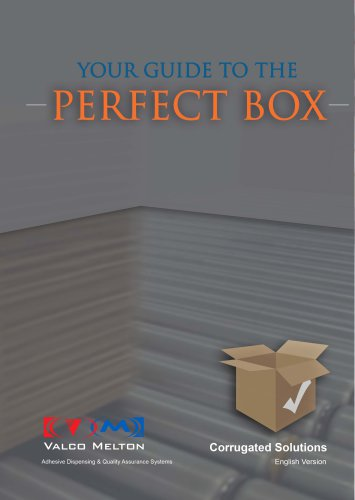 The Perfect Box: Gluing and quality inspection systems for the Corrugated Industry