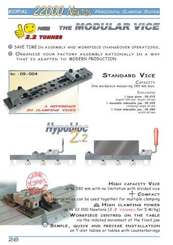 Modular vice 22000 N