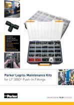 PARKER LEGRIS : Maintenance Kit LF 3000® - BUL/0582