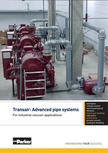 Parker Transair - Advanced pipe systems for industrial vacuum applications