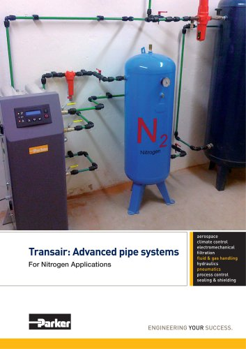 Parker Transair - Advanced pipe systems for nitrogen applications