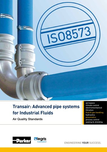 Parker Transair - Advanced pipe systems for Industrial Fluids Air Quality Standards