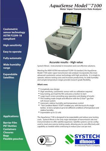 AquaSense Model TM7100