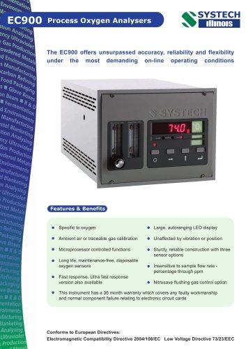 EC900 Process oxygen analyser