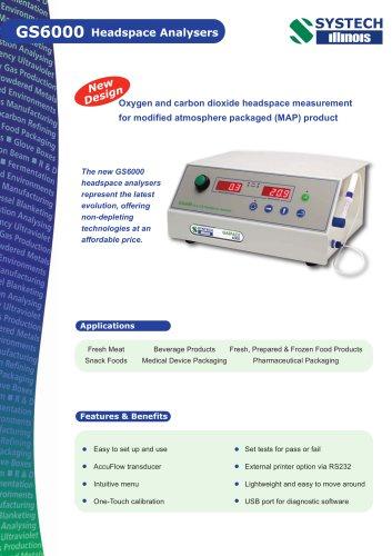 GS6000 Headspace Analyser
