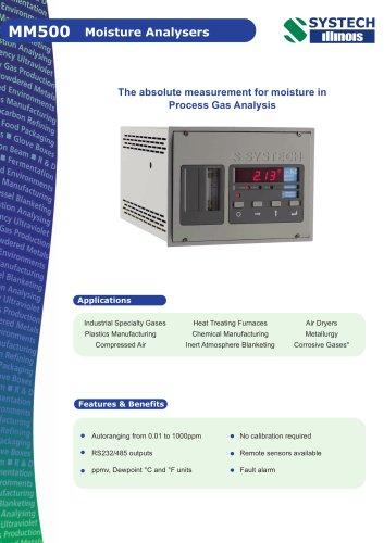 MM500 Moisture Analyser