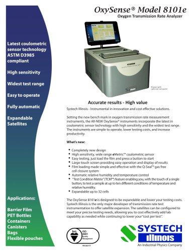 OxySense® Model 8101e