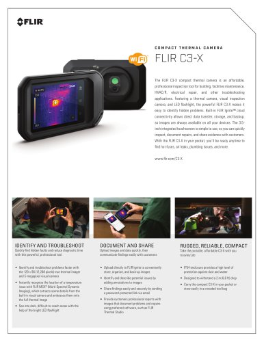 FLIR C3-X