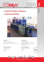 CONVEYOR BELT FURNACE - TYPE 300