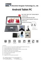 Hengstar Multi-touch Monitors with Built-in Android OS