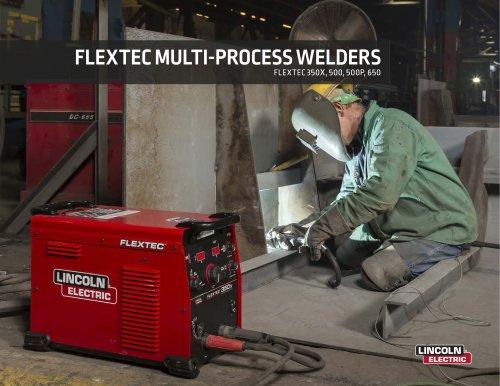 FLEXTEC MULTI-PROCESS WELDERS  FLEXTEC  350X ,  500 ,  500 P,  650