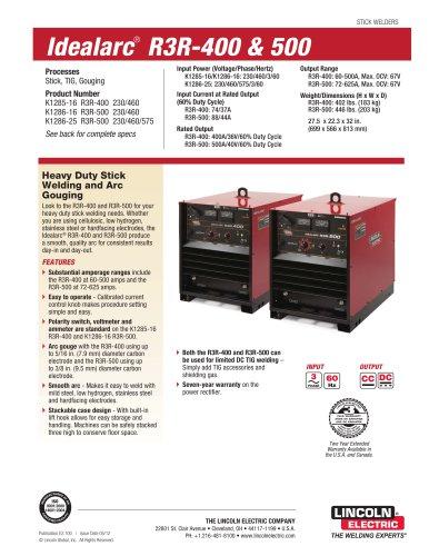 Idealarc® R3R-500 Stick Welder