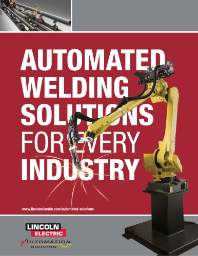 MC09-27 Automated Welding Solutions for Every Industry