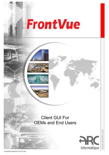 FrontVue - Client GUI for OEMs and End Users