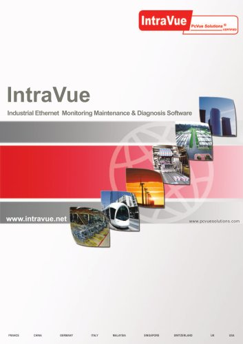 IntraVue - Monitoring and maintenance of industrial IP devices