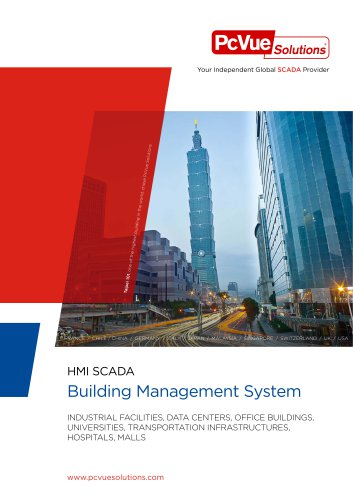 PcVue Solutions - Building Management System EN