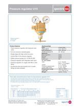 Pressure regulator U15