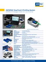 DATAPAQ EasyTrack3 Profiling System