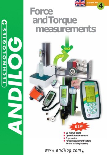 Andilog - Force and Torque Measurements