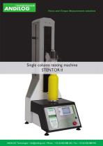 Automated Force test stand up to 2500N
