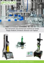 Bottle Testers - Range Anditork Drivetork Topload and Extractor EN
