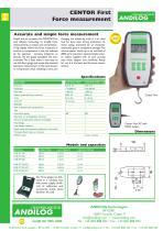 Centor First, digital gauge - 1