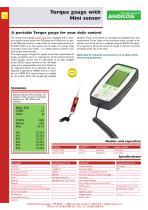 CentorW Easy TM,torque gauge with mini torque sensor - 1