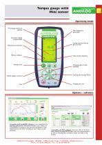 CentorW Easy TM,torque gauge with mini torque sensor - 2