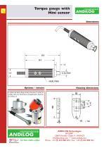 CentorW Easy TM,torque gauge with mini torque sensor - 3