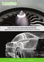 Force and torque testing  - Automotive and Aeronautics