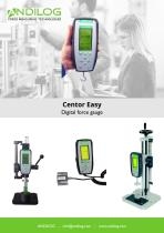 Force gauges Centor Easy with internal or external load cells - 1