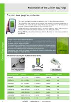 Force gauges Centor Easy with internal or external load cells - 2