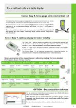 Force gauges Centor Easy with internal or external load cells - 5