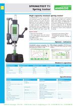 Manual spring tester Springtest T1 - 1