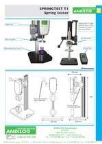 Manual spring tester Springtest T1 - 2