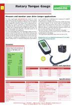 Rotary Drive Torque gauge CENTOR - 1