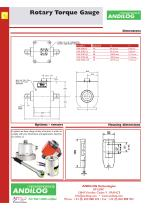 Rotary Drive Torque gauge CENTOR - 3