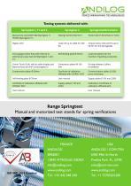 Spring testers - Range Springtest - 12