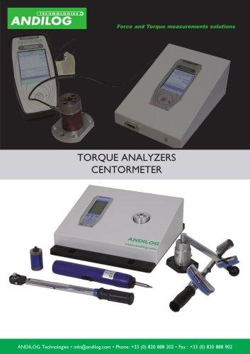 Torque analyzer - Centormeter