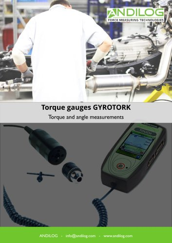 Torque and angle torque wrench Gyrotork