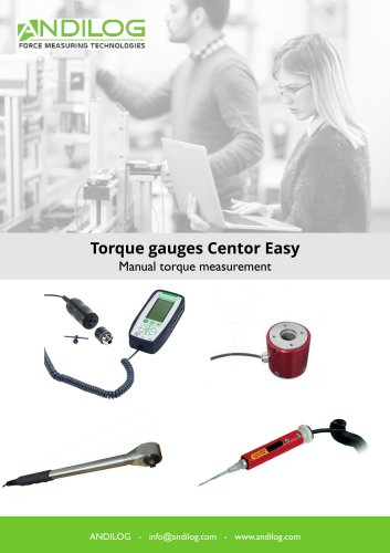 Torque gauges Centor Easy